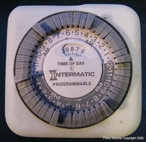 Intermatic mechanical light timer